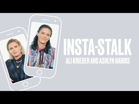 USWNT's Ali Krieger and Ashlyn Harris Talk World Cup Win and Being #CoupleGoals | Insta-Stalk | ELLE