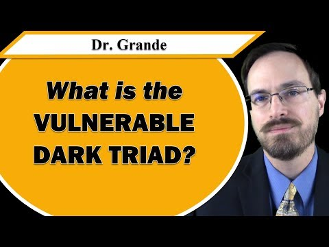 Dark Traits vs. Vulnerable Dark Traits (Dark Triad vs. Vulnerable Dark Triad)