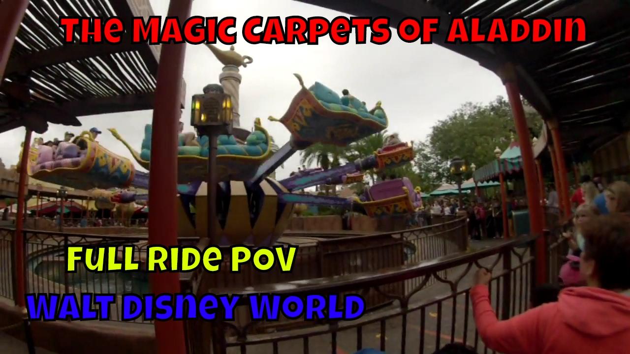 The Magic Carpets Of Aladdin Pov At Walt Disney World