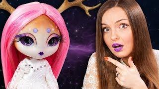 ОЛЕНЬ С ЛУНЫ! ООАК / Кастом Novi Stars | Doe A. Deer | Обзор куклы MGA | Распаковка | На Новый год