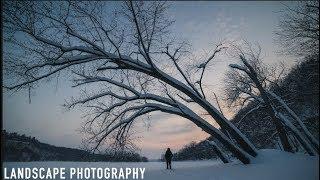 Freezing Cold Landscape Photography | Sony A7