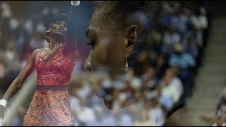 Serena and Venus Williams Get Ready For Their Arthur Ashe Clash - 2018 US Open