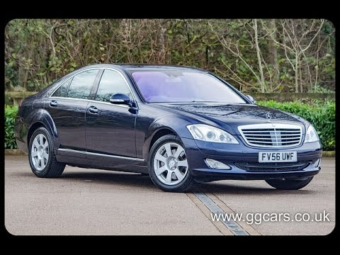 2007 56 mercedes benz s class s320 cdi auto 2 - youtube