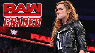 WWE Raw: GRADED (12 February) | Becky Lynch REMOVED From WrestleMania 35 Match, Shock Title Change