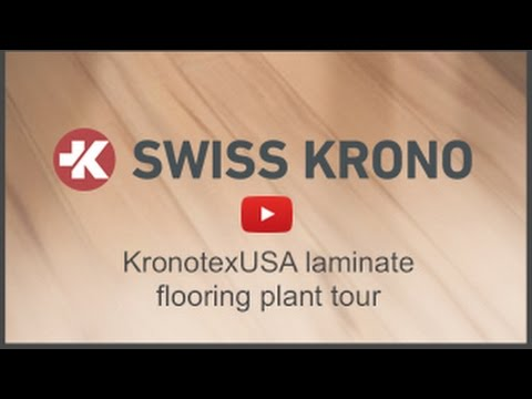 Swiss Krono Usa Laminate Flooring Plant Tour Youtube