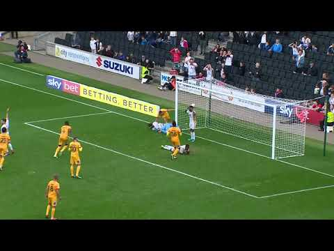 HIGHLIGHTS: MK Dons 1 Northampton Town 0