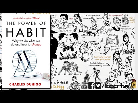 HOW TO STOP SMOKING / BAD HABITS | THE POWER OF HABIT BY CHARLES DUHIGG | ANIMATED BOOK SUMMARY