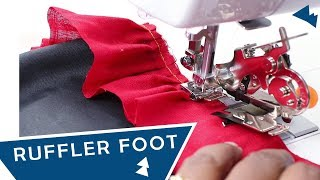 Download Class 58 : How To Use A Ruffler Foot
