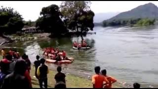 Pencarian Orang Tenggelam di Waduk Malahayu