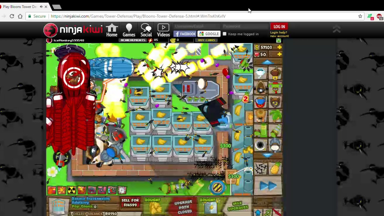 how to get bloon td 5 for free on pc