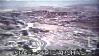 Jerusalem Minute After The Six Day War in Color (No Sound) - June 1967