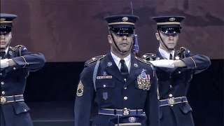 U.S. Army Drill Team Performs • Spirit of America 2014