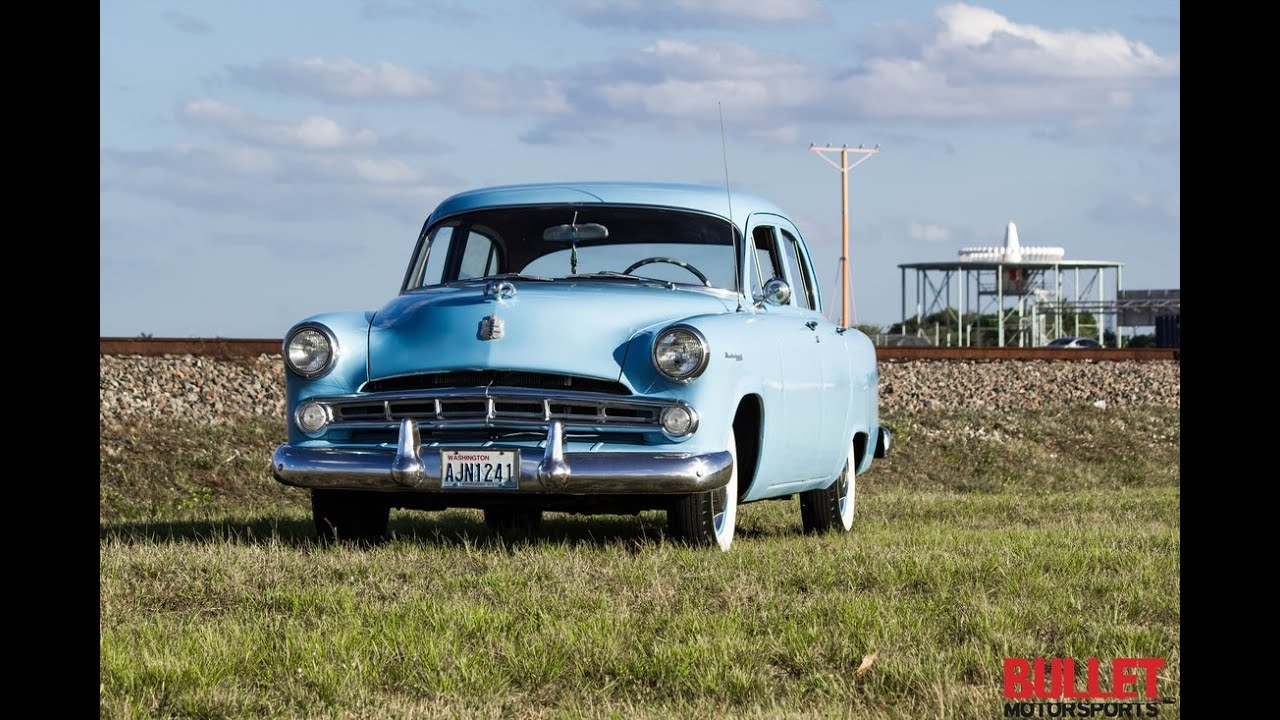 1953 Dodge Meadowbrook Test Drive In Hd Youtube