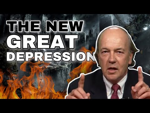 Jim Rickards - Watch Gold Price in Concern for Depression and High Inflation Dollar Collapse!