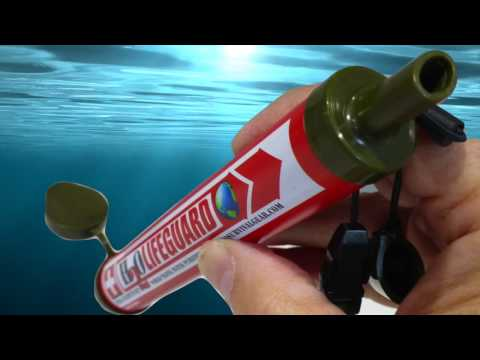 H2O Survival Gear: Introduces Revolutionary Instant Water Filter Purification Straws.