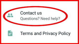 Whatsapp Contact Us !! How To Question? Need Help? !! Whatsapp Team
