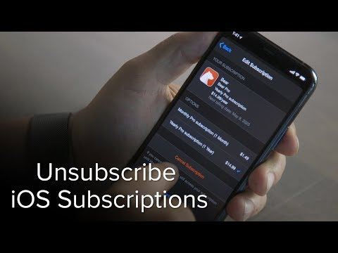 How To Cancel A Subscription On IPhone Or IPad