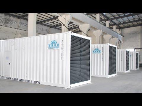 Ettes Power Testing of MWM Deutz Marine Main Power Engine Generator  Generation TBD620V12 Ettes Power