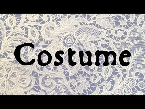 Costume: Word History Connections