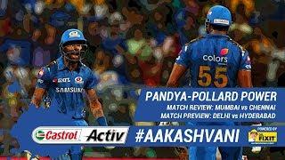 #IPL2019: PANDYA-POLLARD stun #CSK: 'Castrol Activ' #AakashVani, powered by 'Dr. Fixit'