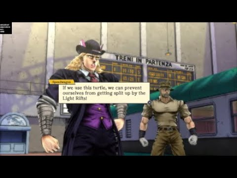 You're Polnareff, the turtle guy, right?