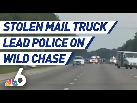 The Mo & Sally Show - Only In FloriDUH: Guy High On Meth Gets In Police Chase In Mail Truck