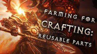 How to fast farm crafting material - reusable parts: Diablo 3 Reaper of Souls Guide