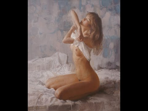 Body oil painting series -12