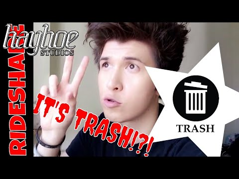 RIDESHARE movie is TRASH!?!  Joshua Lee Young SPILLS THE BEANS!