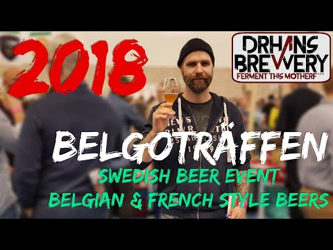 Reporting from the Swedish homebrewing event Belgoträffen 2018. Belgian & French style beers.