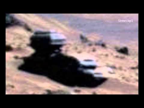 Неизвестный робот на Марсе?