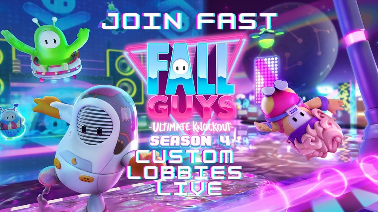 Download 🔴 FALL GUYS LIVE CUSTOM GAMES WITH SUBSCRIBERS NEW SEASON 4.5