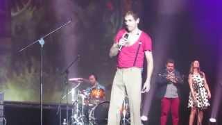Выступление двойника Адриано Челентано Маурицио Швейцера в Нижнем Новгороде