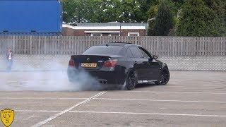 7 Crazy tuned BMW M5's: Drifting, Revving, Accelerations!