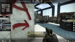 Vertigotierer Counter strike  Global Offensive 18 Sekunden 3 Schuss 3 Gegner Ace