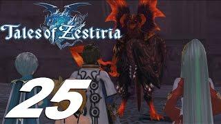Tales of Zestiria - Walkthrough Part 25 - Fire Dungeon & Fire Salamander Boss