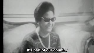 Umm Kulthum ( أم كلثوم ) interview (English subtitles)