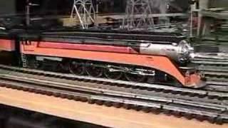 mth premier sp gs 4 daylight 4 8 4 o gauge steam locomotive