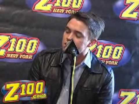 Jesse McCartney - How Do You Sleep? - LIVE in the Z100 Studios! (2/25)