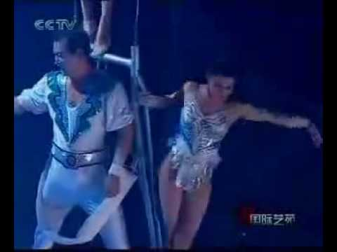 Flying Trapeze Aerial China International Circus.mov