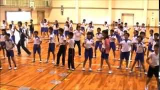 矢作西小学校6年生がみんなでオカザキキテネダンス