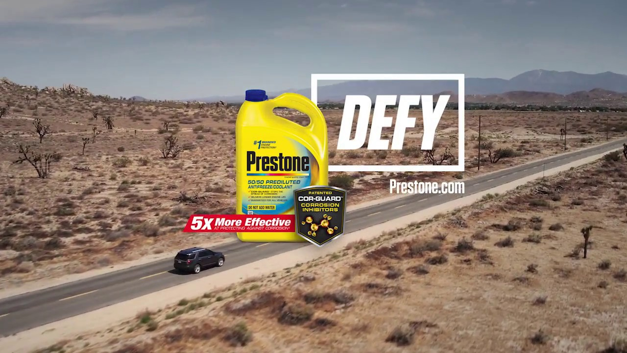 Defy Summer With Prestone Coolant Youtube Engine