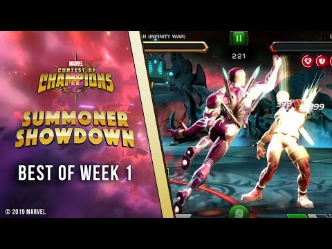 Marvel Contest of Champions: Summoner Showdown | Week 1 Recap