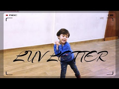 Cutest Performance by 4 years girl | Luv Letter...