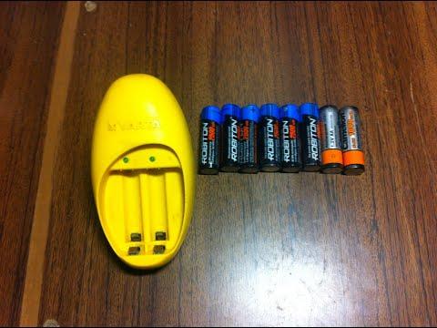 Ni Mh Ni Cd varta 57066 Лучшая из дешевых зарядок для пальчиковых аккумуляторов