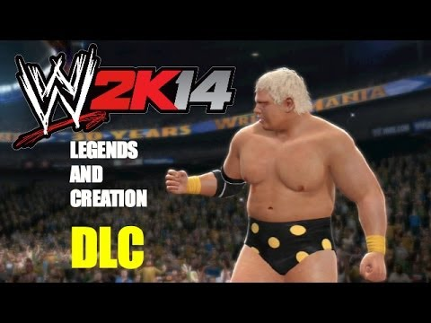 WWE 2K14: Legends and Creation DLC Now Available!
