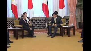 Summit Meeting between President Benigno S  Aquino III and PM Shinzo Abe 6/24/2014