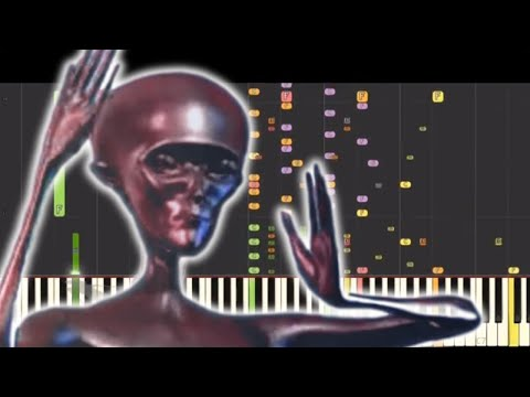 Howard The Alien Theme Song Piano  But Its So Beautiful 9999% WILL MAKE YOU CRY