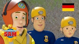 Feuerwehrmann Sam Deutsch Neue Folgen   Sams freier Tag  Gefahr durch das Meer 🚒 Kinderfilme