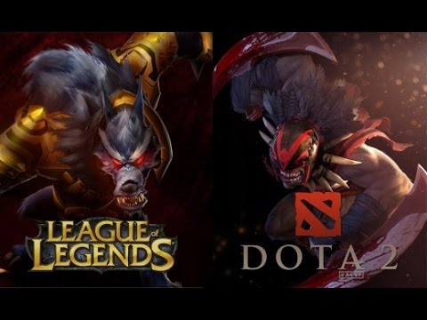 видео: Донат league of legends vs dota 2